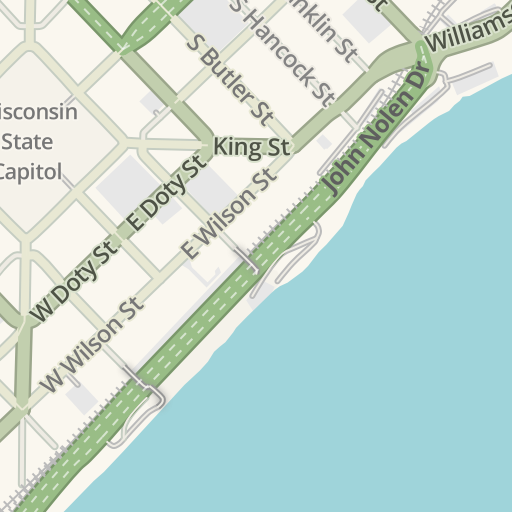 Driving Map Of Wisconsin on