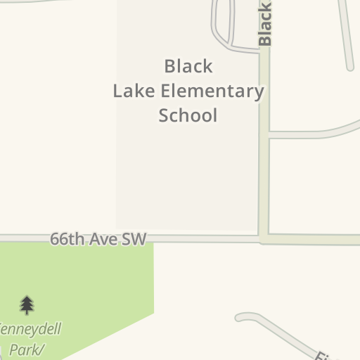 Driving Directions to Parking - Black Lake Elementary School