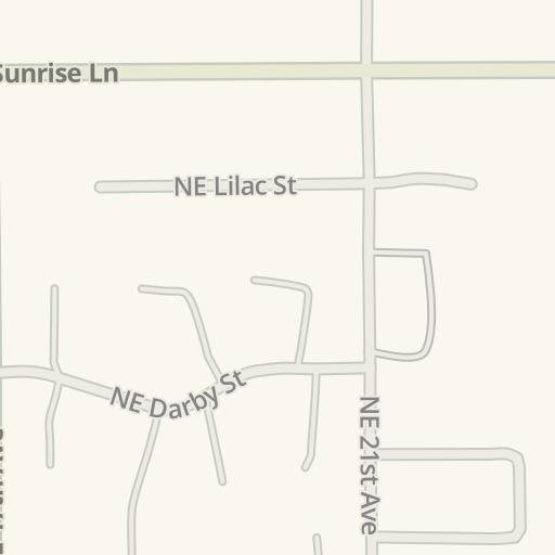 Intel Jones Farm Campus Map.Waze Livemap Driving Directions To Intel Jones Farm Campus
