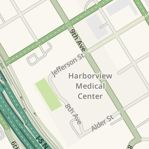 Virginia Mason Seattle Map.Waze Livemap Driving Directions To Buck Pavilion Virginia Mason