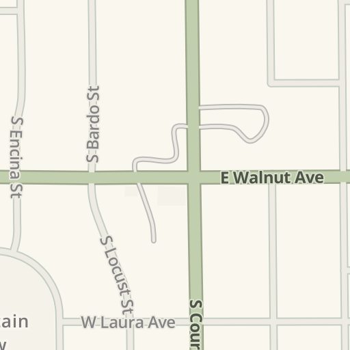 Waze Livemap - Driving Directions to Citibank atm, Visalia, United on