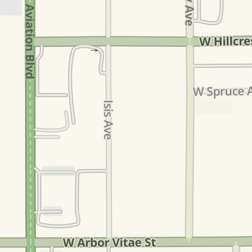 Waze Livemap Driving Directions To Alamo Car Rental Return Lax