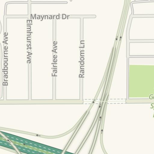 Waze Livemap Driving Directions To Target Sylmar California