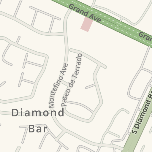 Waze Livemap - Driving Directions to Diamond Bar Golf Course ... on