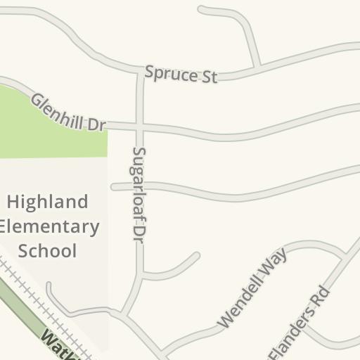 Waze Livemap - Driving Directions to UCR Parking Lot 28, Riverside ...