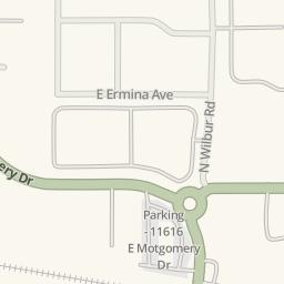 Waze Livemap   Driving Directions To ABC Mini Storage, Spokane Valley,  United States