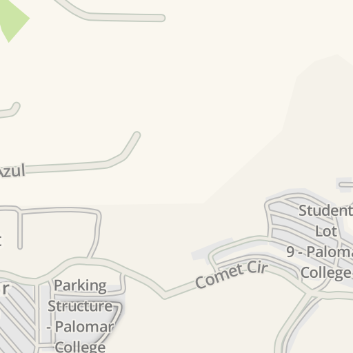 Palomar San Marcos Campus Map.Waze Livemap Driving Directions To Subway Palomar Community