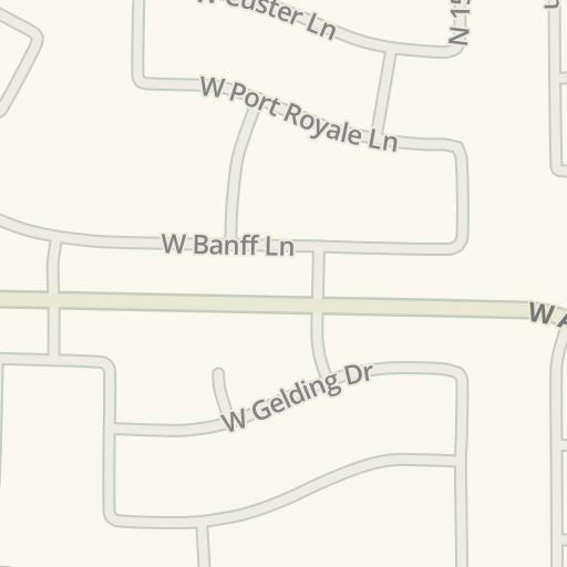 Waze Livemap - Cómo llegar a Valley Vista High School