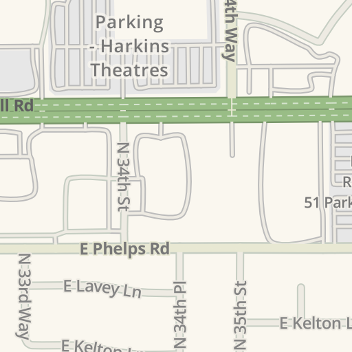 Waze Livemap Driving Directions To Harkins Theatres North Valley