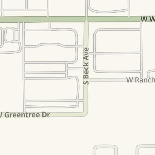 Waze Livemap - Driving Directions to Arizona Tile, Tempe