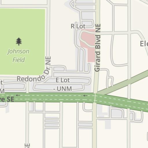 Waze Livemap - Driving Directions to UNM Hospital, Albuquerque ...
