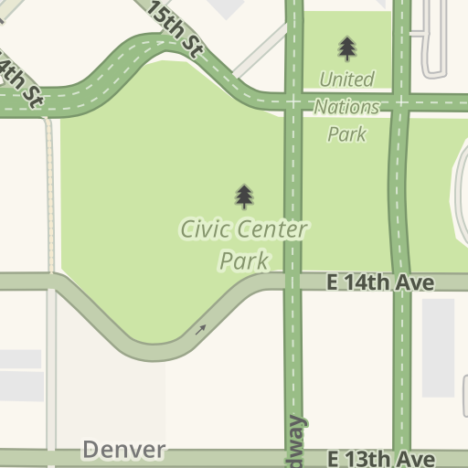 Waze Livemap - Driving Directions to Denver Art Museum, Denver ... on