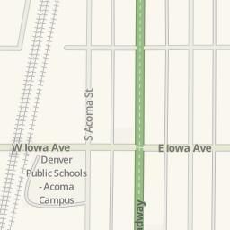 Waze Livemap   Driving Directions To Urban Lights, Denver, United States