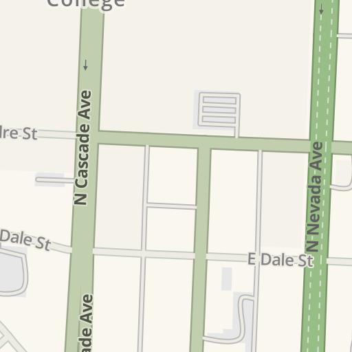 Waze Livemap - Driving Directions to Colorado College, Colorado ...