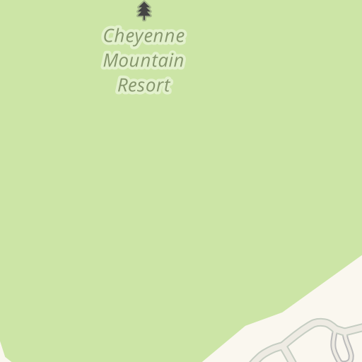 Waze Livemap - Driving Directions to Cheyenne Mountain Resort ... on
