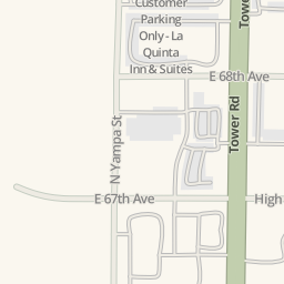 Waze Livemap - Driving Directions to Parking 2 - Quality Inn &amp ...