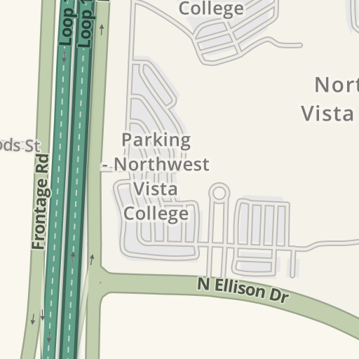 Waze Livemap - Driving Directions to Northwest Vista College ...