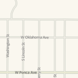 Directions to ponca city oklahoma