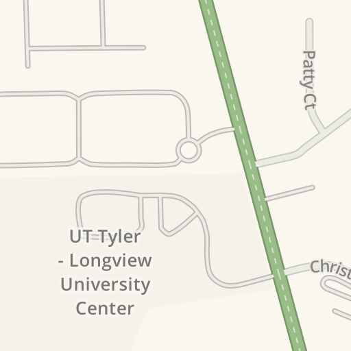 Waze Livemap - Driving Directions to UT Tyler - Longview University ...
