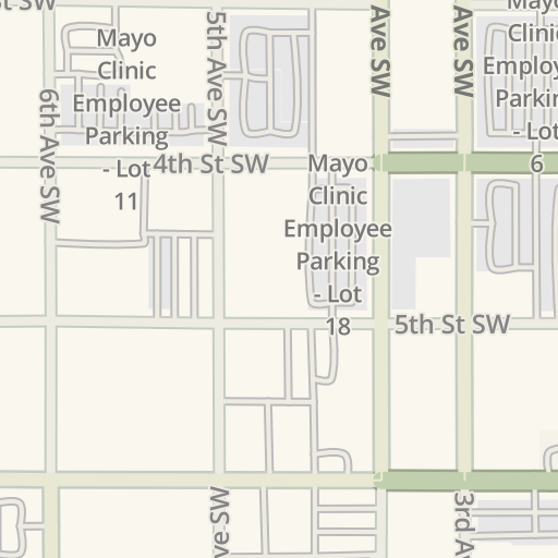 Waze Livemap - Driving Directions to Mayo Clinic Employee