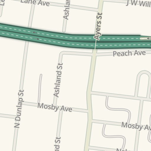 Waze Livemap Driving Directions To Fedex Family House Memphis