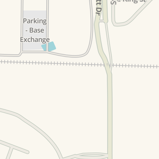 Waze Livemap - Driving Directions to Scott Air Force Base Commissary ...