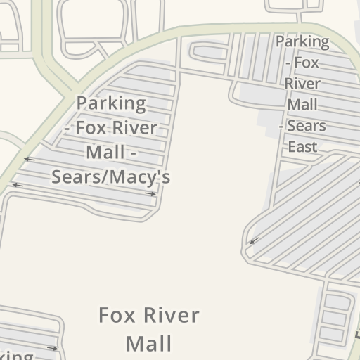 Waze Livemap - Driving Directions to Fox River Mall - G - Target ...