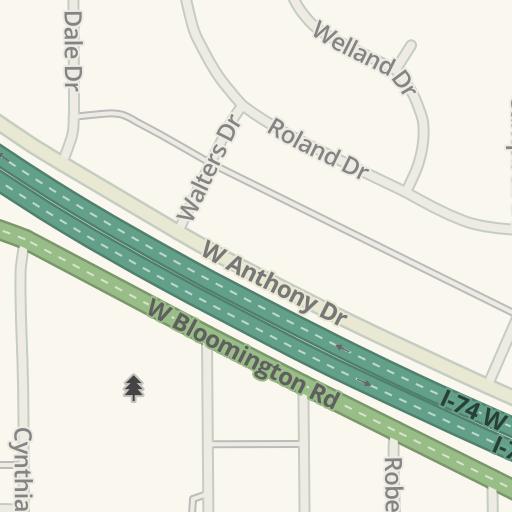Waze Livemap - Driving Directions to Garden Hills Elementary School ...