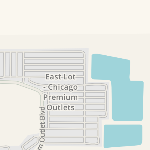 Waze Livemap - Driving Directions to Chicago Premium Outlets, Aurora on