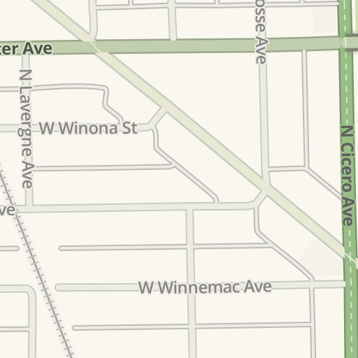 Waze Livemap - Driving Directions to Factory Motor Parts Elston location, Chicago, United States
