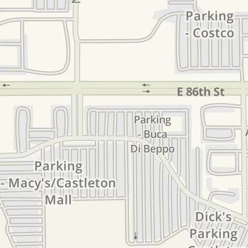 Waze Livemap - Driving Directions to Castleton Square Mall ... on