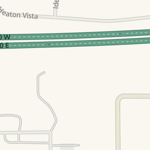 Waze Livemap - Cómo llegar a Austin Hardware, Elkhart