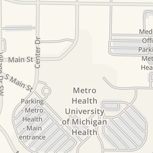 Waze Livemap - Driving Directions to Metro Health