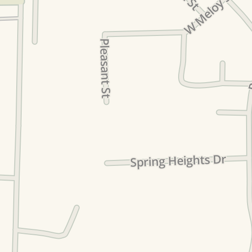 Waze Livemap - Driving Directions to Dove-Sharp Funeral Home, North Vernon, United States