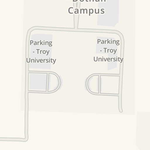 Waze Livemap Driving Directions To Troy University Dothan Campus