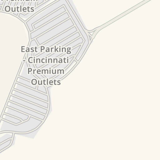 Waze Livemap - Driving Directions to North Parking- Cincinnati ... on