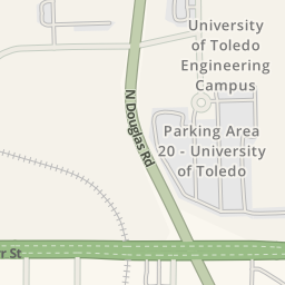 Driving Directions to Parking Area 19S - University of ...