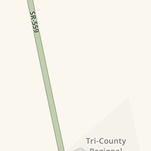 Driving Directions to Parking - Tri-County Regional Jail