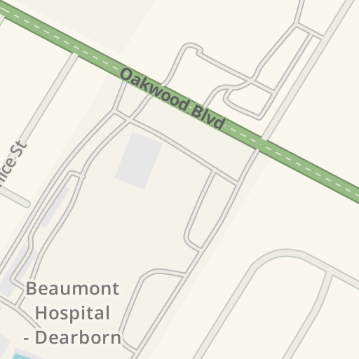 Waze Livemap - Driving Directions to ER - Beaumont Hospital