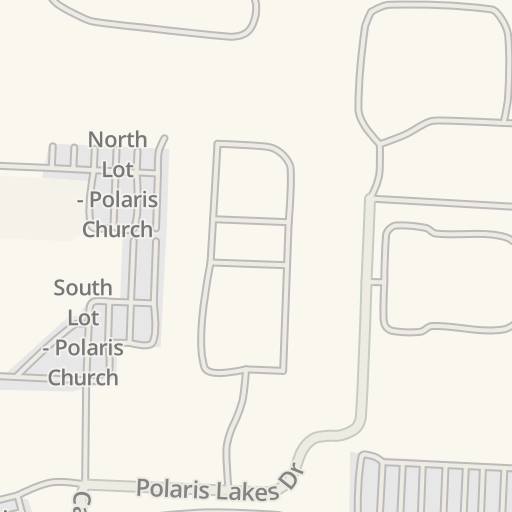 Waze Livemap - Driving Directions to JC Penney East Lot - Polaris ...