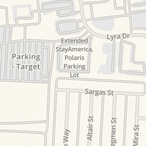 Waze Livemap - Driving Directions to East Lot - Polaris Fashion ...