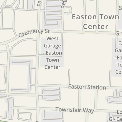 Waze Livemap Driving Directions To West Garage Easton Town