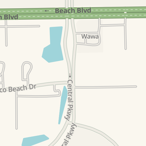 Waze Livemap - Driving Directions to Tennis Courts - FSCJ South ...