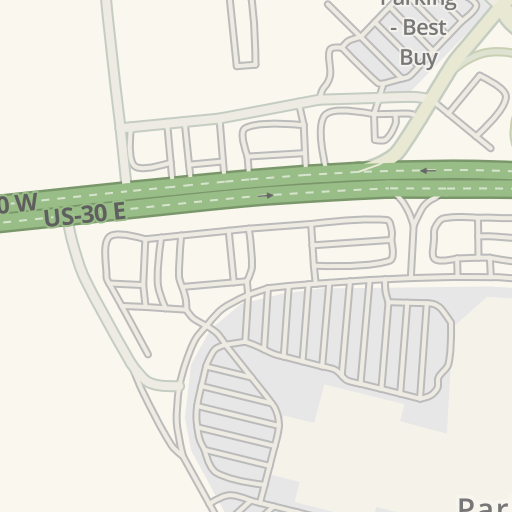 Waze Livemap Driving Directions To Westmoreland Mall Greensburg