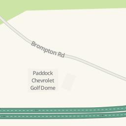 Waze Livemap   Driving Directions To Paddock Chevrolet Golf Dome,  Tonawanda, United States