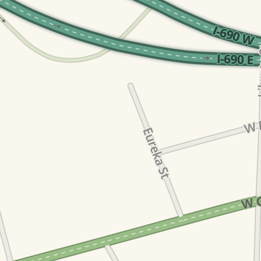 waze livemap - driving directions to alan byer volvo, syracuse