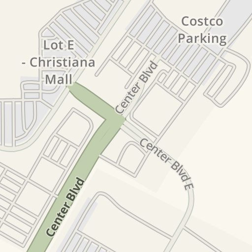 Waze Livemap - Driving Directions to Christiana Mall, Newark, United on