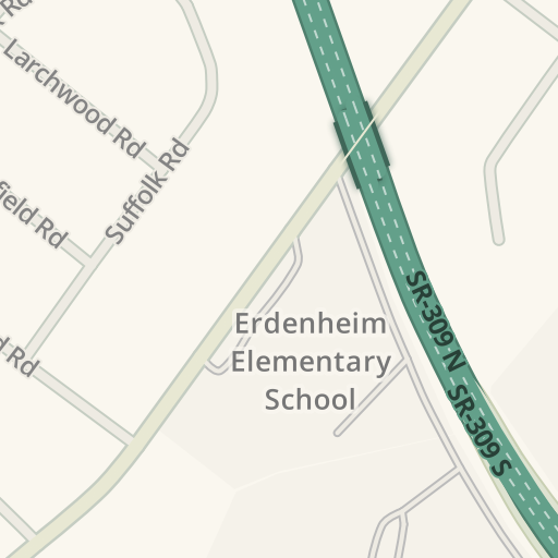 Waze Livemap - Driving Directions to Springfield Township