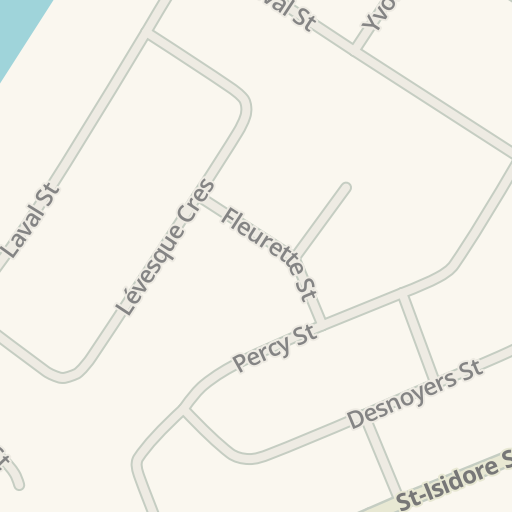 Waze Livemap Driving Directions To Ecole Secondaire Catholique De