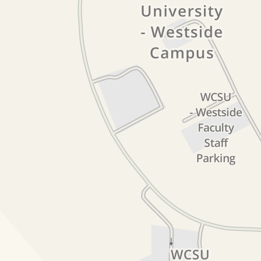 Wcsu Westside Campus Map.Waze Livemap Driving Directions To Western Ct State University